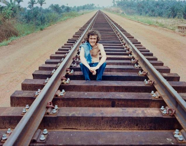 Nilton Souza na Ferrovia dos Carajás