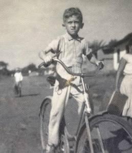 Nilton Souza de bicicleta em Varzedo