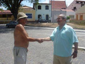 Zeca e João fazendo um trato