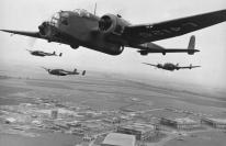 Hampden in flight